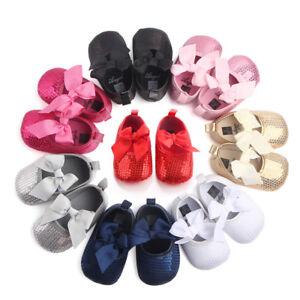 8 Zapatos 3 Bautizo Nuevo En Bebé Fiesta 6 9 De Lentejuelas Niña Detalles Colores 0 12 O8n0NwPkX