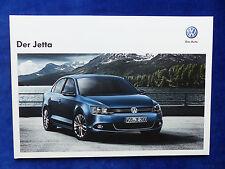 VW Jetta VI - Prospekt Brochure 06.2012