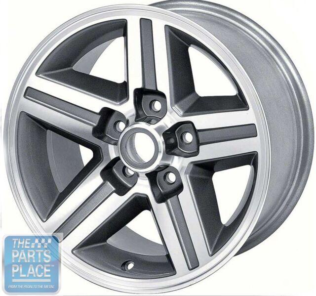 "1985-87 Camaro Front Aluminum Wheels 16"" X 8"" - 4 - 1/4 "" Backspace - Each"