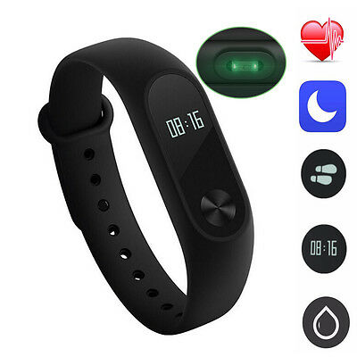 XIAOMI Mi Band 2 OLED Montre Intelligent Bracelet Fréquence Cardiaque Touchpad