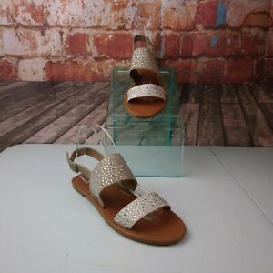 Rampage-Size-10-Strappy-Sandals-Rinestones
