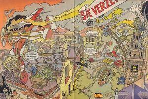 STRIPWEEKBLAD-EPPO-1984-nr-13-POSTER-HENK-KUIJPERS-VARIOUS-COMICS