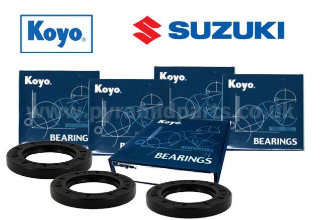 SUZUKI GSX1400 avant complet & KIT ROULEMENT DE ROUE ARRIÈRE ORIGINAL KOYO 02-07
