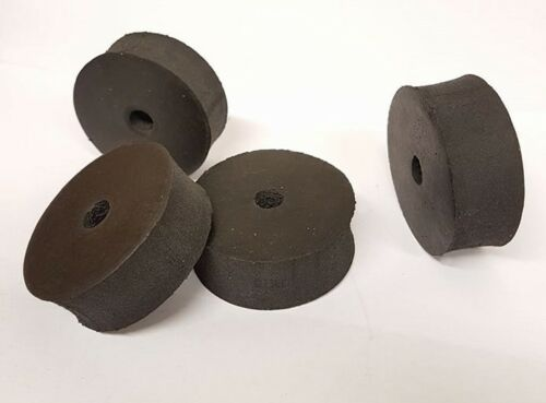 Rubber Large Racing Seat Spacers 50 x 20mm Tillett Iztech x 8 UK KART