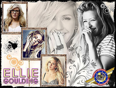 """Ellie Goulding /"""" Rock Star/"""" Personalized T-shirts"""
