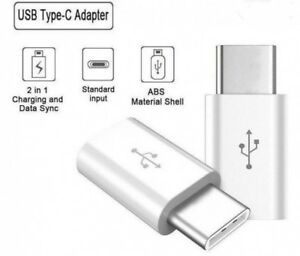 USB-3-1-USB-C-Type-C-male-to-Micro-USB-female-Data-Adapter-Converter-WHITE-NYPR