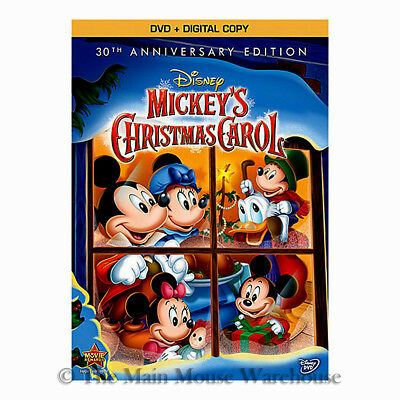 Mickeys Christmas Carol Dvd.Disney Dickens Mickey Mouse Mickey S A Christmas Carol Dvd And Digital Copy Code 786936837179 Ebay