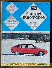 Revue Technique CITROËN BX Base 14E - 14RE - 16RS - 16TRS 1983