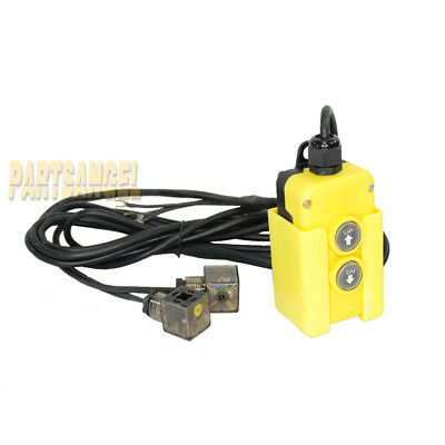 Dump Trailer Remote Control Switch 12V DC 4 Wire for Double Acting Hydraulic Power Pump Unit
