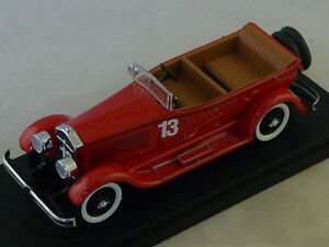 Rio 4402 - Isota Fraschini 8a Spyder N ° 13 Lazio 1922 Bianchi 1/43