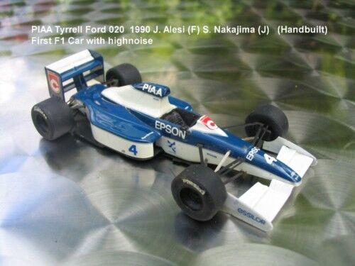 1 43 tyrrell ford 019 1990 J. Alesi usa tameo handbuilt MODELCAR dans showcase