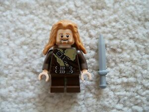 LEGO-LOTR-Lord-Of-The-Rings-The-Hobbit-Fili-the-Dwarf-w-Sword-Excellent