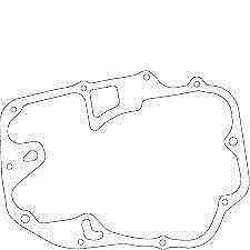 Honda NOS CB450 CL450 Right Crankcase Cover Gasket 450 11394-292-000
