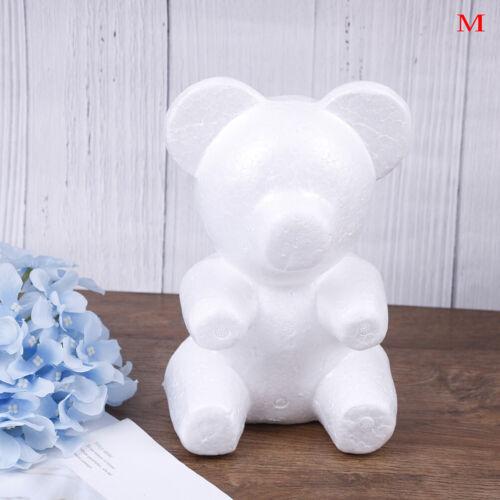 15cm//20cm//33cm Foam Bear Mold Artificials Flowers Rose Gifts Bear Mold Birth BSU