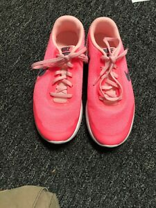 Girls-Nike-Neon-Pink-6-Flex-Experience-Rn-New-no-box