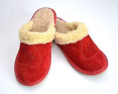 Damen Wildleder Hausschuhe.Schuhgröße von 37 bis 41 .Neu