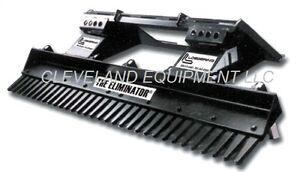 84 loegering eliminator landscape rake attachment skid steer loader