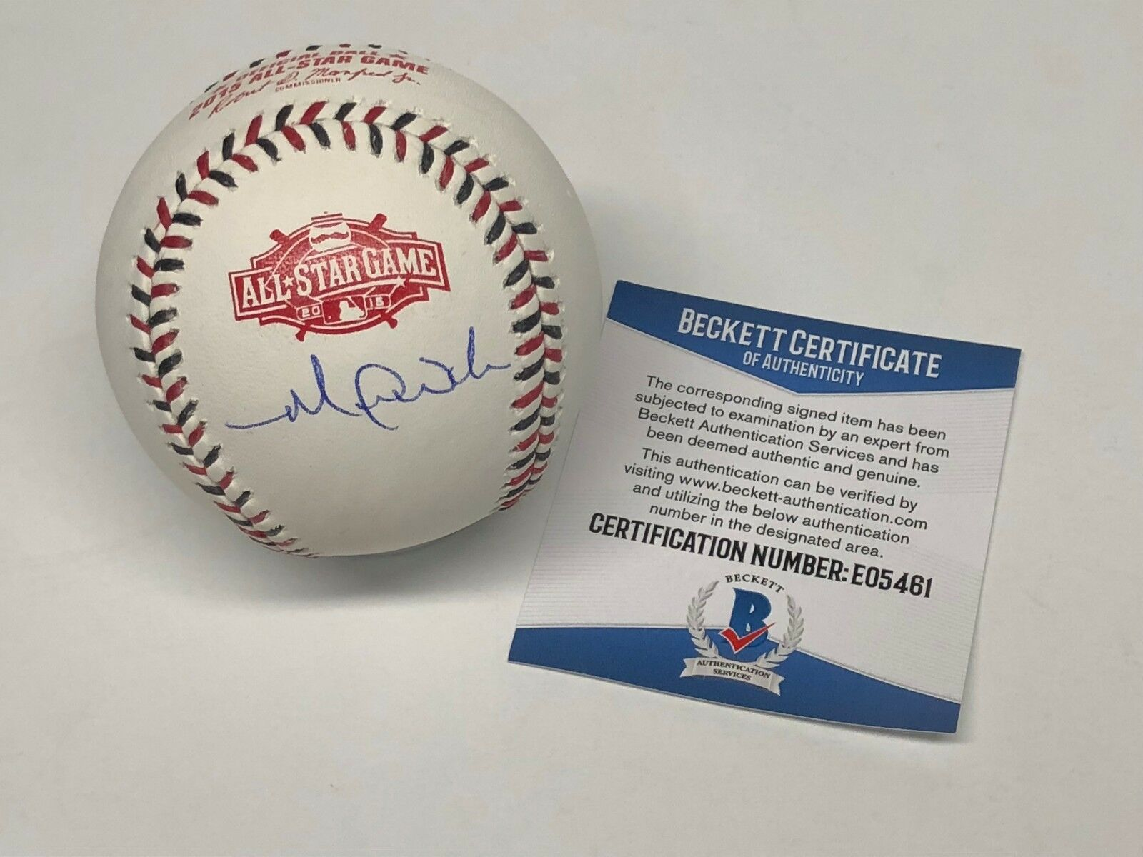 Michael Wacha Signed 2015 All-Star Major League Baseball ASMLB BAS E05461
