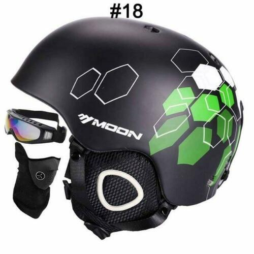 Integrally Molded Snowboard Helmet Men Women Skating Skateboard Skiing Helmet
