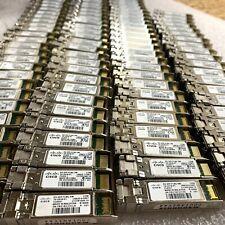 LOT OF 25 Genuine Cisco DS-SFP-FC8G-SW SFP GBIC Transceiver