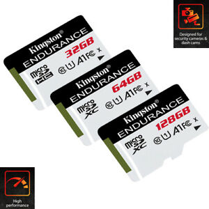 Kingston 32GB MicroSD SDHC SDXC TF Flash Memory Card Lot