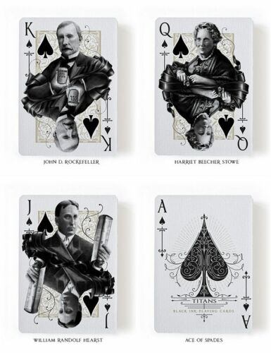 Titans Robber Barons 2 Deck Set Playing Cards Poker Size LPCC Custom Limited New