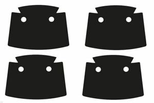 4-x-Pack-of-4-Black-Trench-Coat-Capes-for-LEGO-Minifigures-NEW