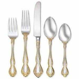 Oneida-Golden-Mandolina-20-Piece-Fine-Flatware-Set-Service-for-4