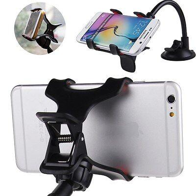 Universal Car Windshield Mount Holder Bracket Stand for Smart Mobile Phone GPS #