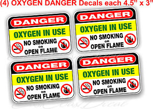 """DANGER  HIGH VOLTAGE 4.5/"""" x 5/"""" DECAL STICKERS UV EXT or INT FREE SHIPPING NEW"""