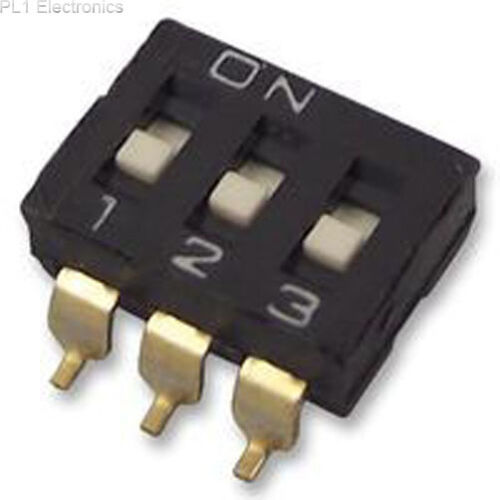 SWITCH OMRON ELECTRONIC COMPONENTS DIP SEALED A6S3102H 3 WAY