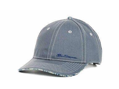 NWT Ben Sherman Herringbone Adjustable Mens Hat Cap Hat OSFM ADJUSTABLE REAR