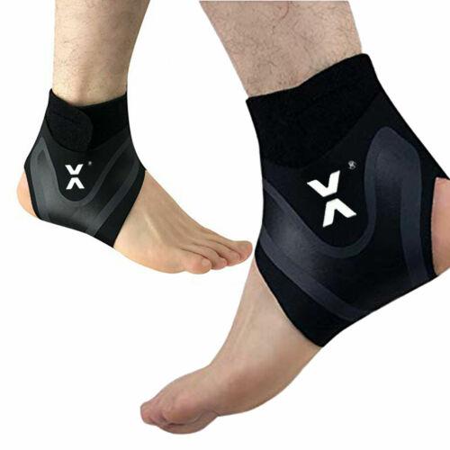 1 X Ankle Support Medical Compression Sleeves Elastic Bandage Wrap Foot Brace UK