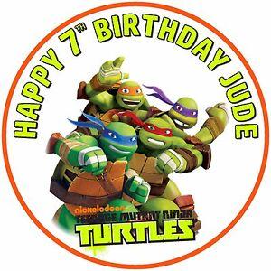 7-5-034-Teenage-Mutant-Ninja-Turtles-Birthday-Celebration-Personalised-Cake-Topper