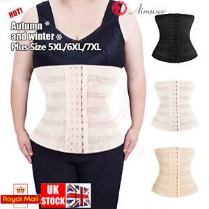 3d5b0ffc7 GB Plus Size Waist Trainer Corset Weight Loss Body Shaper Cincher ...
