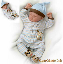 Counting Sheep Weighted Poseable Lifelike Baby Doll By