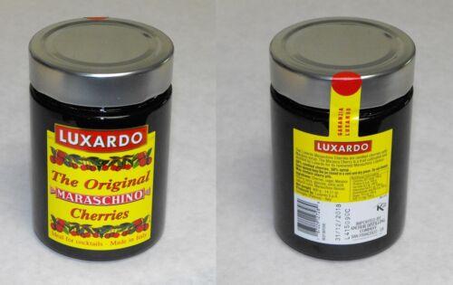 x1 Gourmet LUXARDO MARASCHINO Cocktail CHERRIES in Marasca Syrup 400g 14oz Jar