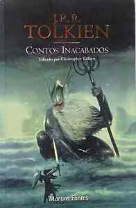 Contos-Inacabados-Editato-por-Christopher-Tolkien-used-paperback-Portuguese-2002
