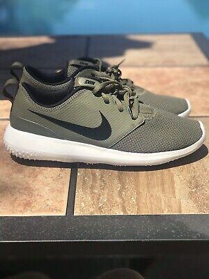 New Nike Roshe G Spikeless Golf Shoes Aa1837 200 Olive Black Men S Sz 10 Ebay