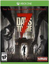 7 DAYS TO DIE XON NEW VIDEO GAME
