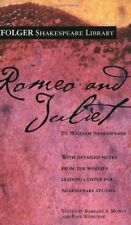Folger Shakespeare Library: Romeo and Juliet by William Shakespeare (2004, Paperback)