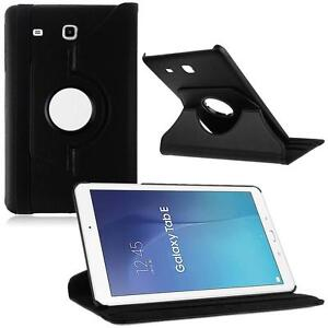 New-360-Rotated-PU-Leather-Smart-Case-Cover-For-9-6-Samsung-Galaxy-Tab-E-T560-L8
