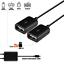 Black Micro USB Male to 2 Type A Dual USB Female OTG Adapter Converter Hub TOP