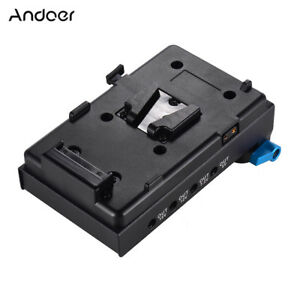 Andoer-V-Mount-Battery-Plate-Adapter-for-BMCC-BMPCC-Nikon-for-Monitor-Recorder