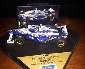 Onyx-1-43-Williams-Renault-FW18-5-D-Hill-Winner-French-Gp-1996-X281