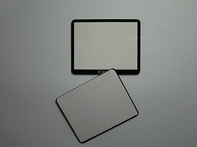 Replacement New LCD External Protector Screen Window Display Outer Glass Cover with Double Tape Adhesive for Canon EOS 50D