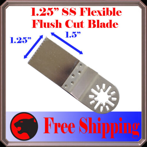 """3pc 1.25/""""  SS Detail Oscillating Multi Tool Saw Blade For Fein Multimaster Bosch"""