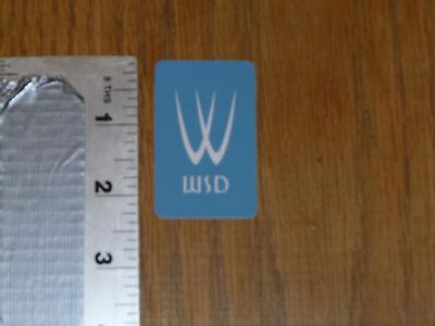 Trek WSD Sticker Decal