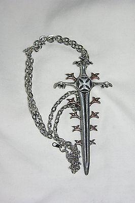 Nett Alchemie Goth Saviour Schwert Oop Reine WeißE