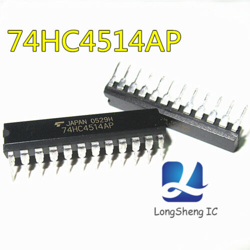 10PCS 74HC4514 Integrated Circuit from TC74HC4514AP DIP NEW